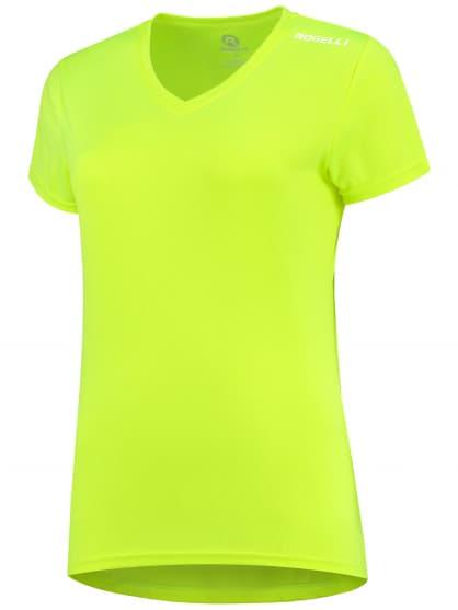Dámské funkční triko Rogelli PROMOTION Lady, reflexní žluté