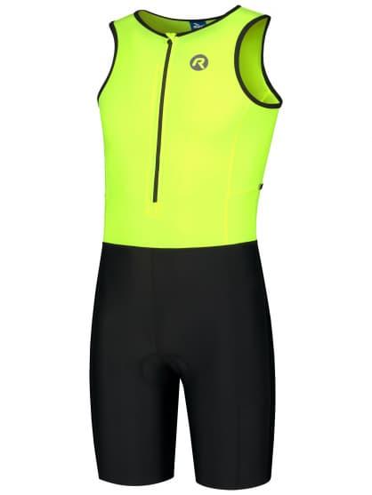 Kombinéza na triatlon Rogelli FLORIDA, reflexní žlutá