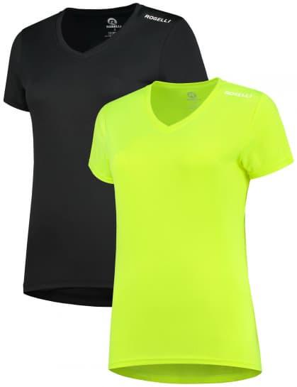 Dámská funkční trička Rogelli PROMOTION MIX LADY - 2 ks různé velikosti