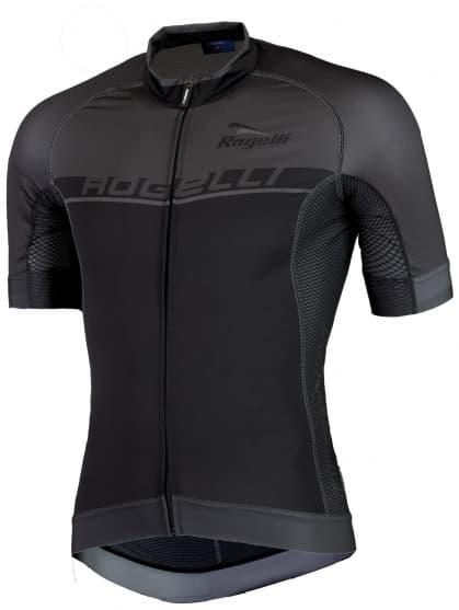 Extraprodyšný cyklistický dres Rogelli COMBATTIVO s krátkým rukávem, černý