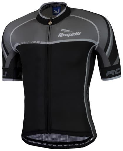 Ultralehký cyklodres Rogelli ANDRANO 2.0 s krátkým rukávem, černý