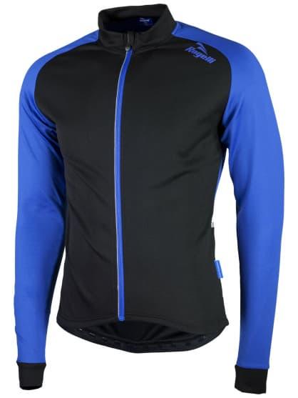 Jemně zateplený cyklodres Rogelli CALUSO 2.0 s dlouhým rukávem, modrý