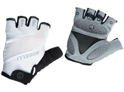 Cyklistické rukavice Rogelli PHOENIX, bílé
