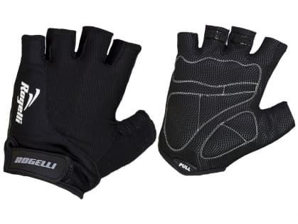 Cyklistické rukavice Rogelli STRADA, černé