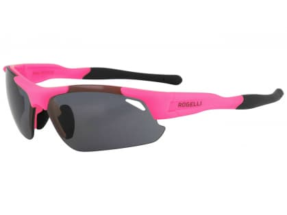 Cyklistické sportovní brýle Rogelli RAPTOR s výměnnými skly, růžové