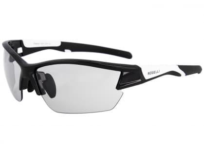 Fotochromatické sportovní brýle Rogelli SHADOW, černo-bílé