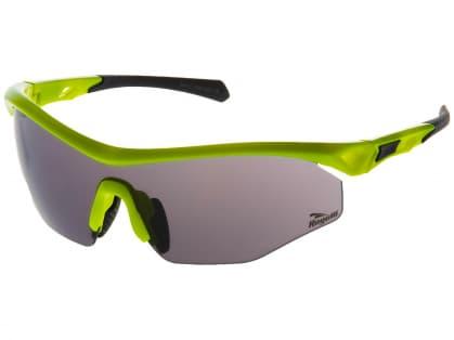 Cyklistické sportovní brýle Rogelli SPIRIT s výměnnými skly, reflexní žluté