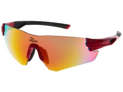 Sportovní brýle Rogelli WRIGHT s výměnnými skly, červené