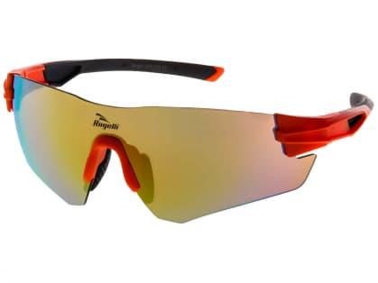 Sportovní brýle Rogelli WRIGHT s výměnnými skly, oranžové