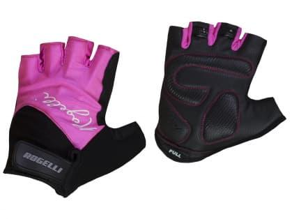 Dámské rukavice na kolo Rogelli DOLCE, růžové